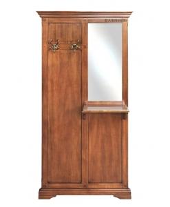 Vestiaire meuble d'entrée classique en bois Arteferretto