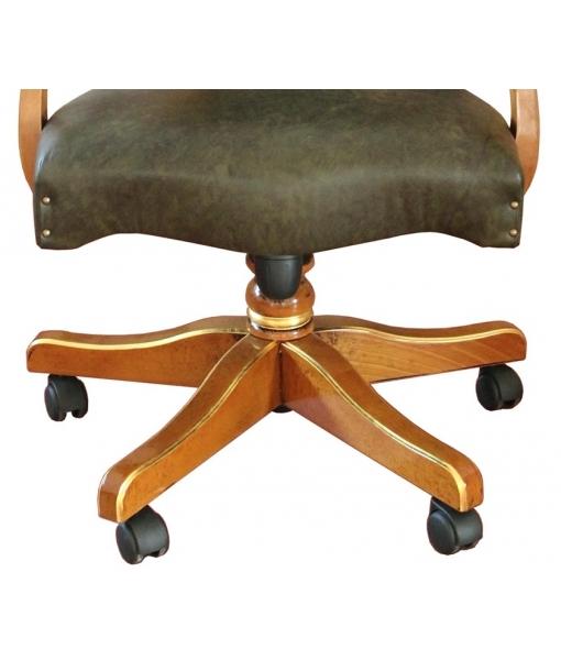 Fauteuil tournant de bureau, fauteuil avec roulettes