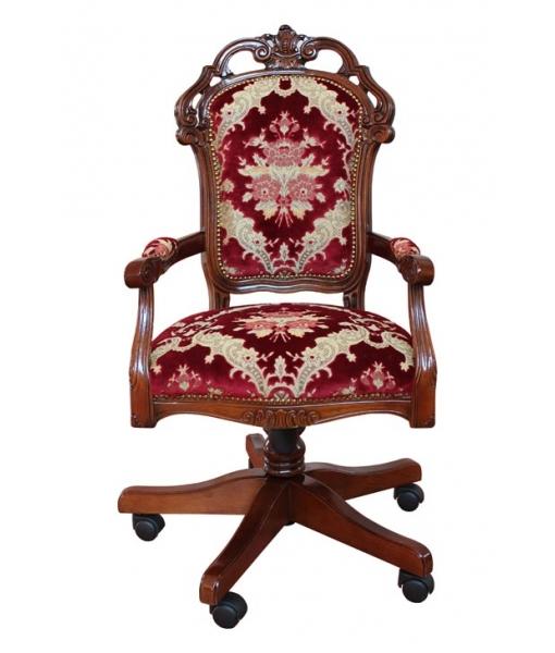 fauteuil pivotant classique de bureau lamaisonplus. Black Bedroom Furniture Sets. Home Design Ideas