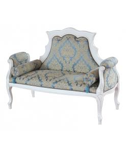 Canapé modelé, canapé pour salon, canapé blanc