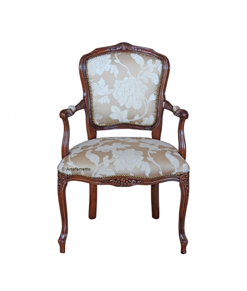 fauteuil louis xv classique lamaisonplus. Black Bedroom Furniture Sets. Home Design Ideas