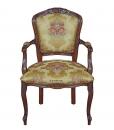 Fauteuil Louis XV classique