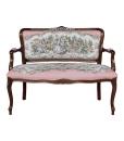 Canapé, canapé romantique, petit canapé deux places