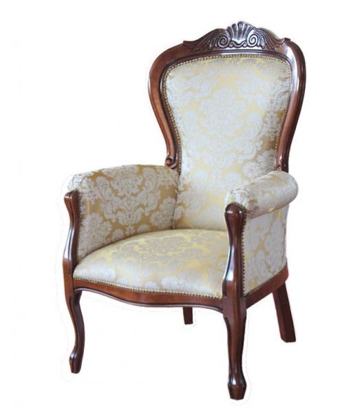 fauteuil classique sculpt lamaisonplus. Black Bedroom Furniture Sets. Home Design Ideas