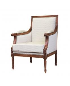 fauteuil style empire, fauteuil classique, fauteuil confortable