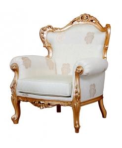 fauteuil, fauteuil classique, fauteuil en bois massif, fauteuil de luxe