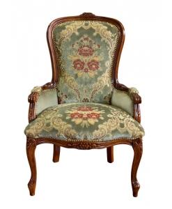 fauteuil, fauteil pour la chambre, zone nuit, fauteuil de chambre classique