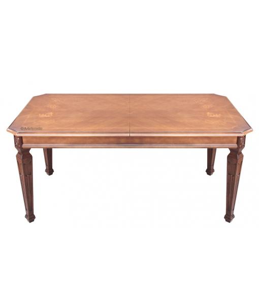 Table de salle à manger Lux cm 180-260, RÉF : KA-728