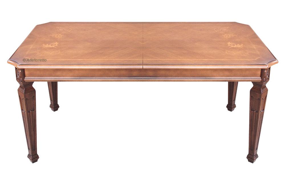 Table de salle manger lux cm 180 260 lamaisonplus for Table salle a manger luxe
