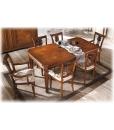 Table de salle à manger, table extensible, table rectangulaire avec rallonges