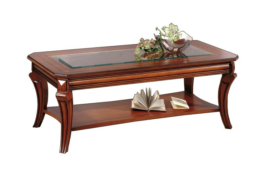 Table basse de salon rectangulaire lamaisonplus - Table de salon rectangulaire ...