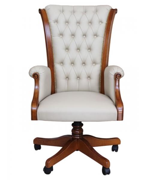 Fauteuil de direction, fauteuil tournant, fauteuil classique, ameublement pour le bureau, ameublement de style, ameublement classique, fauteuil confortable, fauteuil