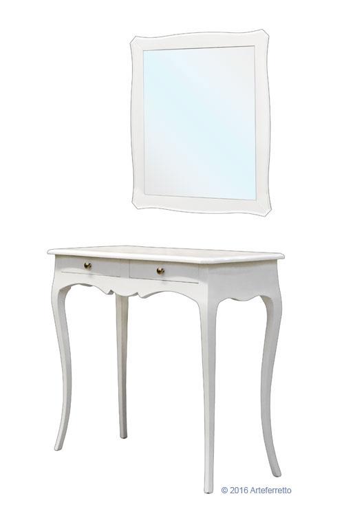 Console et miroir pour l 39 entr e lamaisonplus for Console avec miroir pour entree