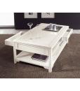 Table basse de salon, table de salon avec tiroirs