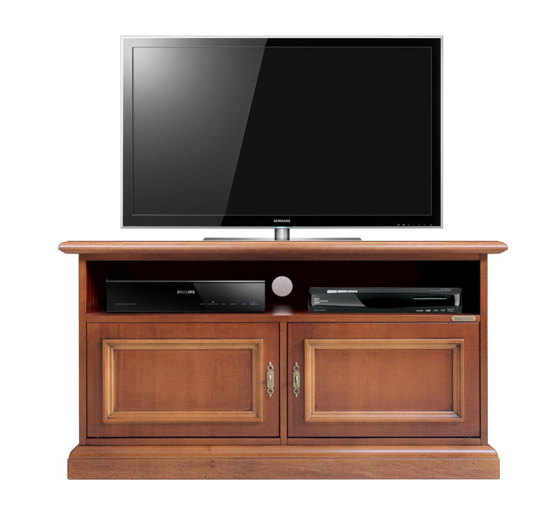 meuble tv barre de son 2 portes meuble tv en bois 100 fabriqu en italie ebay. Black Bedroom Furniture Sets. Home Design Ideas