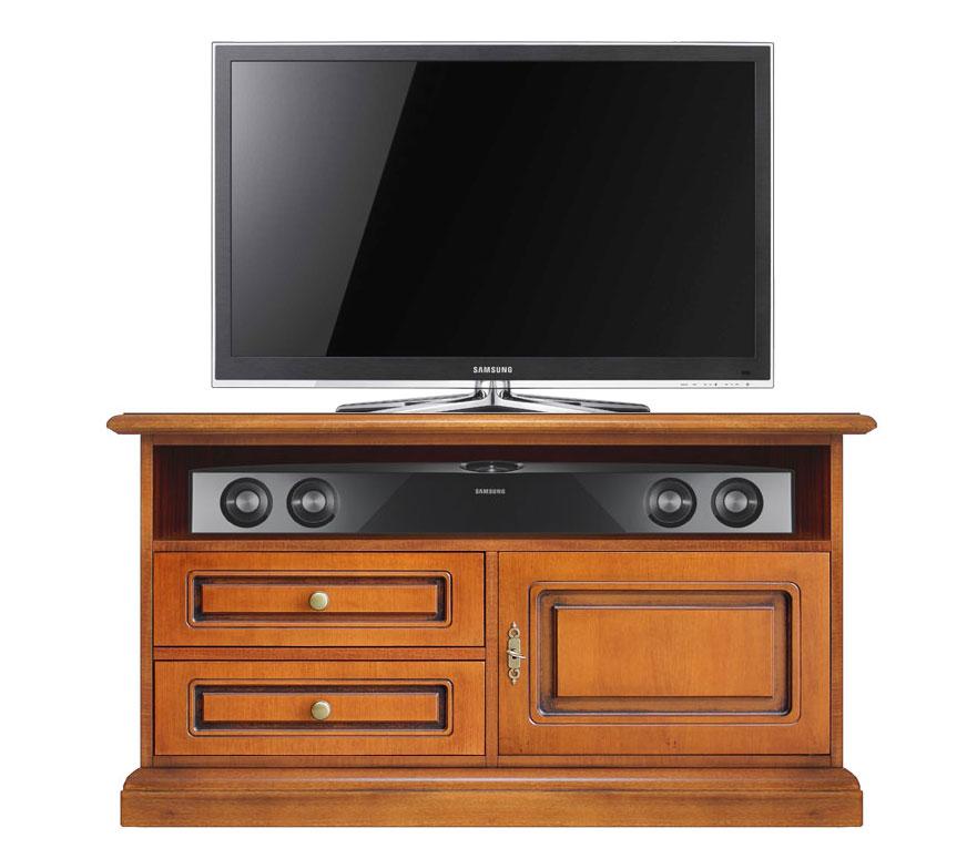 Meuble tv barre de son petit et confortable lamaisonplus - Meuble tv barre de son integree ...