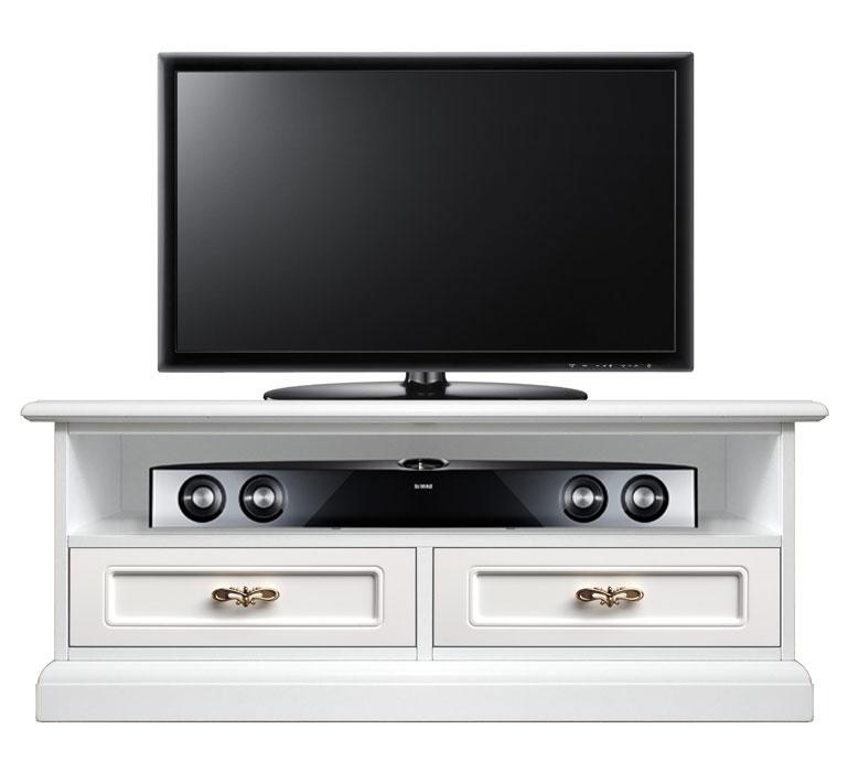 Meuble tv barre de son 2 tiroirs banc tv de style - Meuble tv avec barre de son ...
