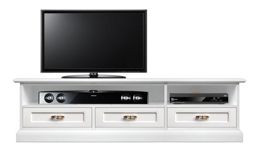Meuble tv bas barre de son 3 tiroirs lamaisonplus - Meuble barre de son ...