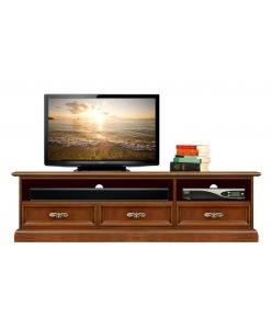 Meuble Tv Barre de son 3 tiroirs Arteferretto