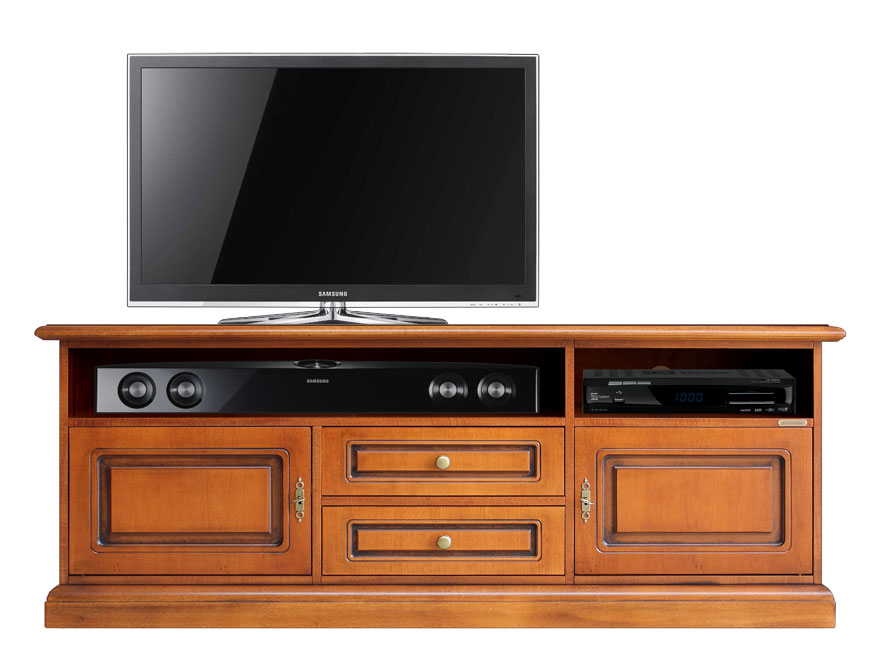 Meuble tv barre de son lamaisonplus for Meuble tv promo
