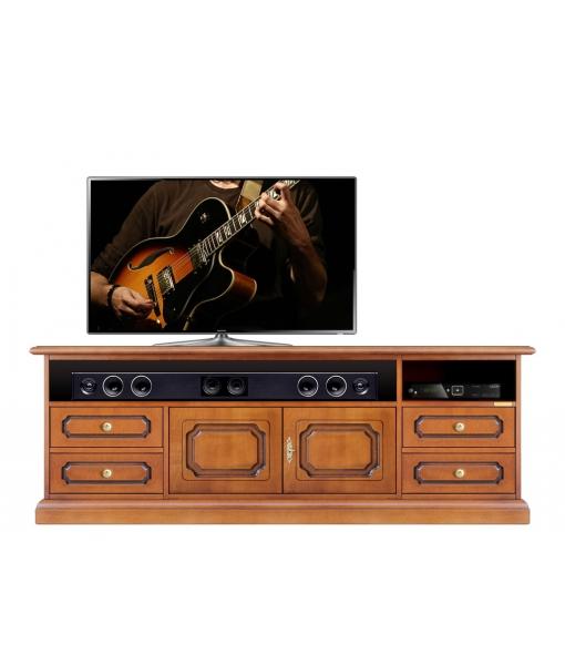 Meuble buffet tv barre de son classique lamaisonplus - Meuble tv barre de son ...