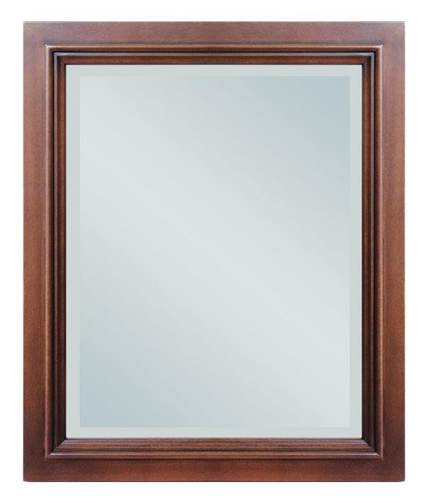 Miroir mural en bois massif lamaisonplus for Miroir mural en bois