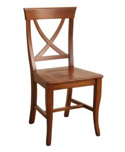 chaise de style assise en bois, chaise en bois massif, bois de hêtre, chaise pour la salle à manger