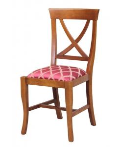 Chaise rembourrée Louis Philippe