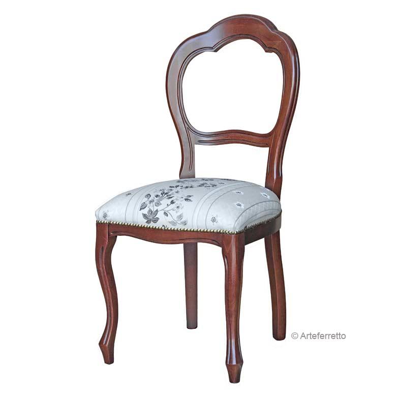 chaise classique arc lamaisonplus. Black Bedroom Furniture Sets. Home Design Ideas