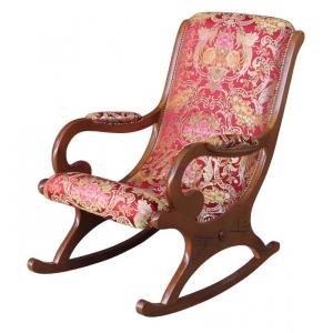 chaise berceuse en bois archivi lamaisonplus. Black Bedroom Furniture Sets. Home Design Ideas