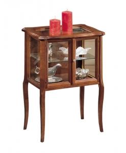 vitrine classique, ameublement de style, ameublement classique, petit meuble, vitrine, vitrine en bois, vitrine pour le salon