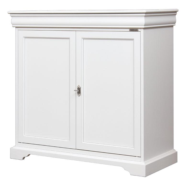 Buffet blanc laqu plusieurs couleurs disponibles mobilier classique salo - Buffet salon blanc laque ...