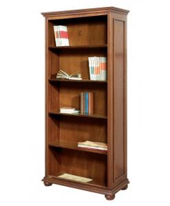Bibliothèque style classique avec étagères Arteferretto