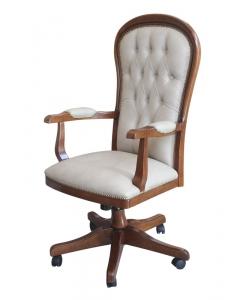 Fauteuil pivotant. fauteuil avec roulettes