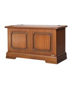 Coffre banc d'entrée classique en bois Arteferretto