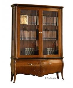 vitrine haute avec deux portes, vitrine bibliothèque