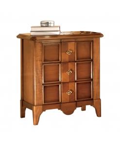 chevet, meubles en bois de tilleul