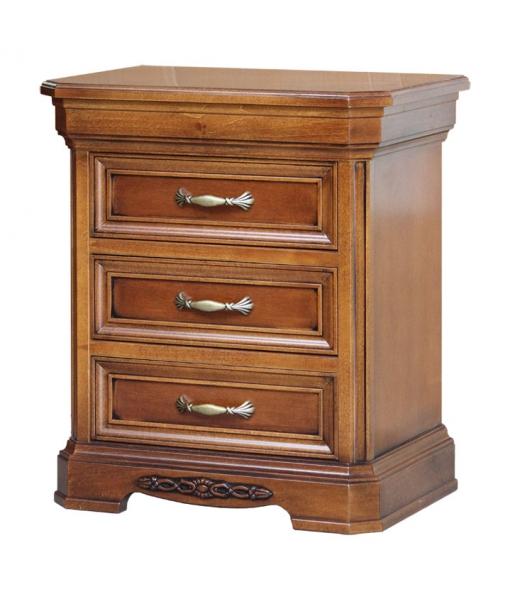 Table de chevet classique, chevet, meubles chambre à coucher