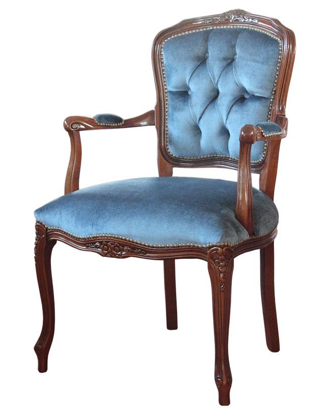 fauteuil parisienne en bois fauteuil de style classique pour le salon. Black Bedroom Furniture Sets. Home Design Ideas