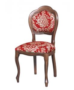 chaise rembourrée, chaise de style, chaise bois massif