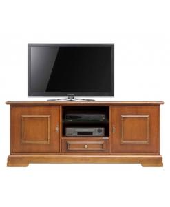 meuble tv, meuble tv en bois, meuble tv classique, ameublement de style classique, meuble tv pour le salon