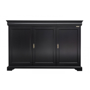 Meuble Buffet 3 portes art. 350 en finition noir