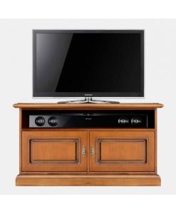 Meuble tv barre de son 2 portes lamaisonplus - Meuble tv barre de son ...