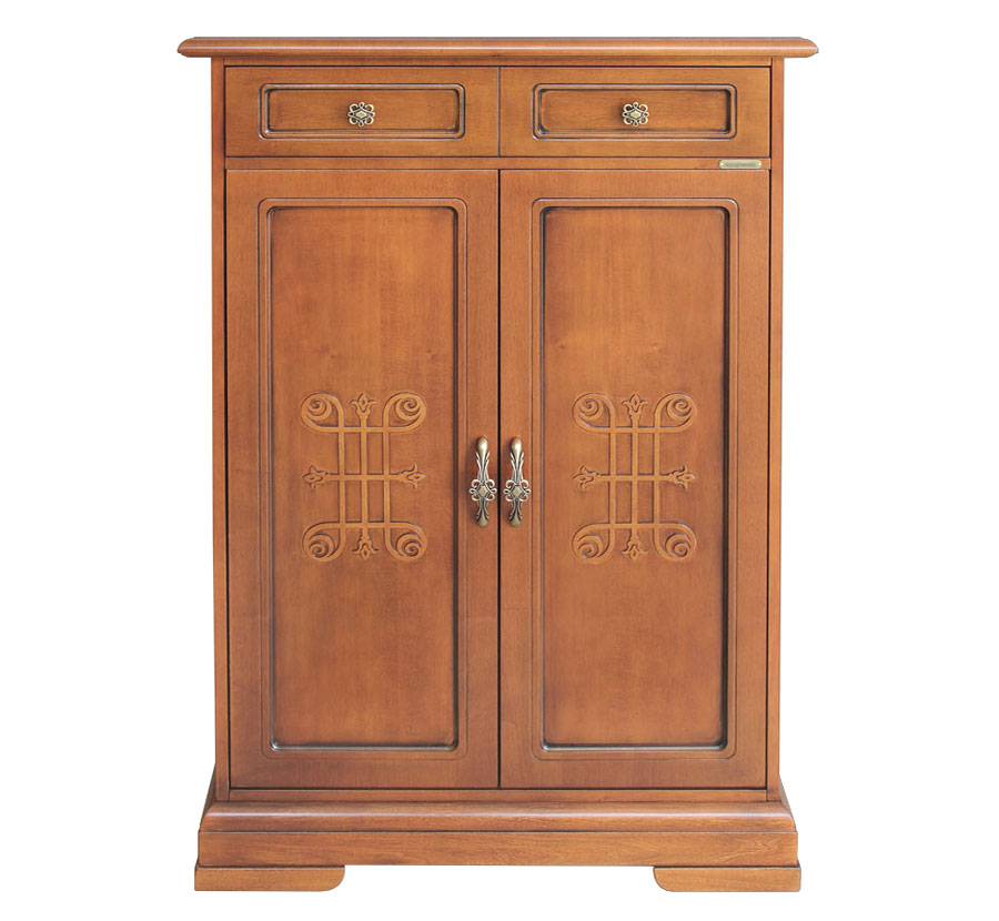 armoire chaussures 2 portes lamaisonplus. Black Bedroom Furniture Sets. Home Design Ideas