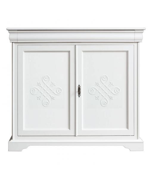 Buffet classique 2 portes 1 tiroir lamaisonplus for Largeur porte classique