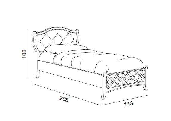 Lit une personne nuage lamaisonplus for Medida estandar cama individual