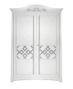 armoire deux portes, zone nuit