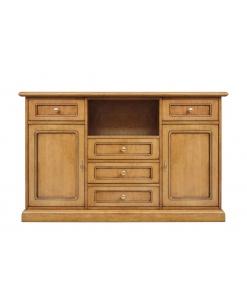 Meuble TV double usage, meuble tv, buffet, meuble polyvalent, meuble tv avec tiroirs