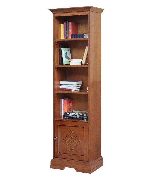 biblioth que colonne 1 porte et tag res meuble de. Black Bedroom Furniture Sets. Home Design Ideas