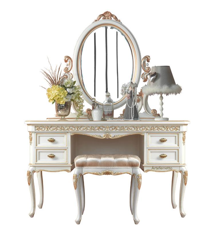 meuble coiffeuse de style classique arteferretto rf af 687